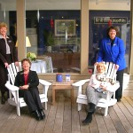 Kiawah Seabrook Office Agents Outside at Bohicket Marina