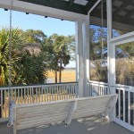 Jenkins Point Porch Swing Seabrook Island sc