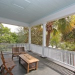 View from historic charleston porch