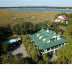 1505 Lady Anna Lane Seabrook Island SC Aerial Shot