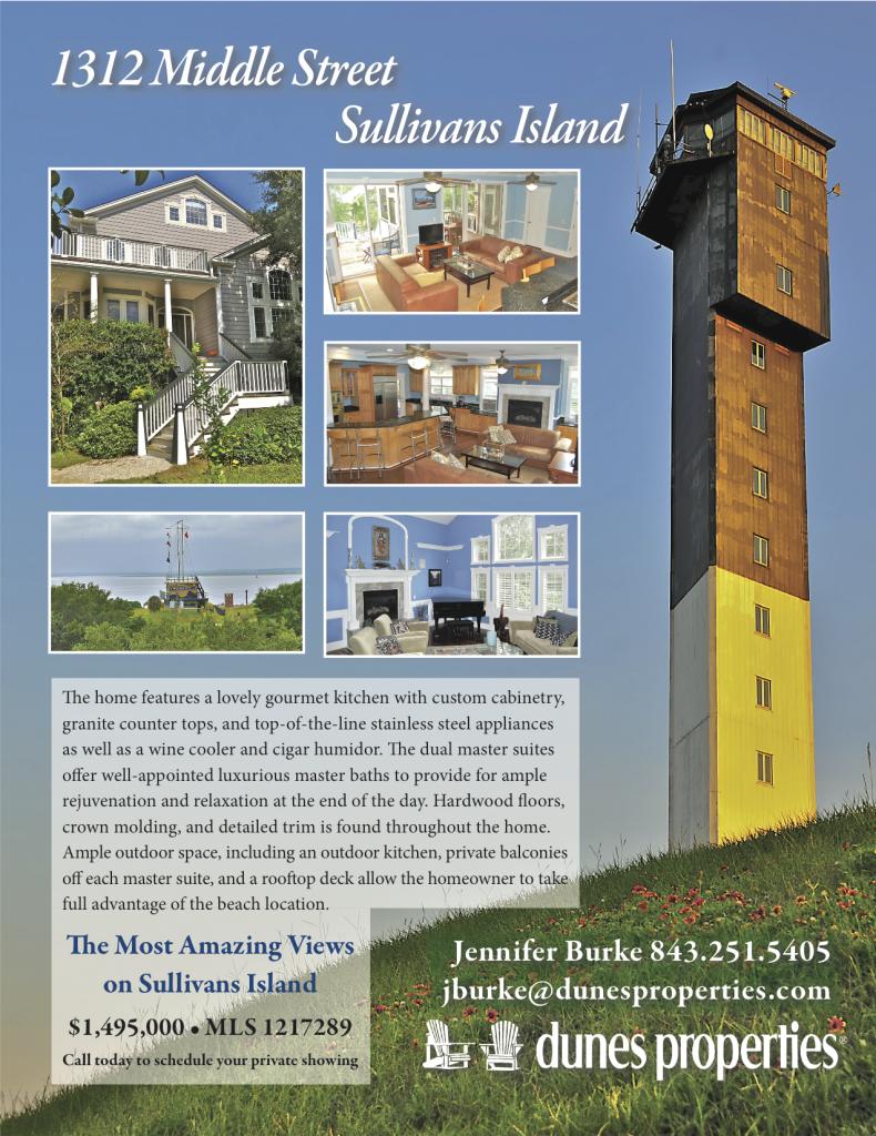 Middle Street Flyer, dunes properties, Sullivans Island