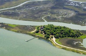 Captain Maynards Island aerial
