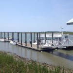 Dewees Island Dock, dunes properties