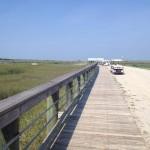 Arrival on Dewees Island, dunes properties