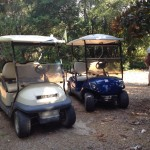 Golf Carts on Dewees Island