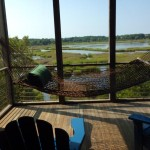 Views from Dewees Island home, dunes properties