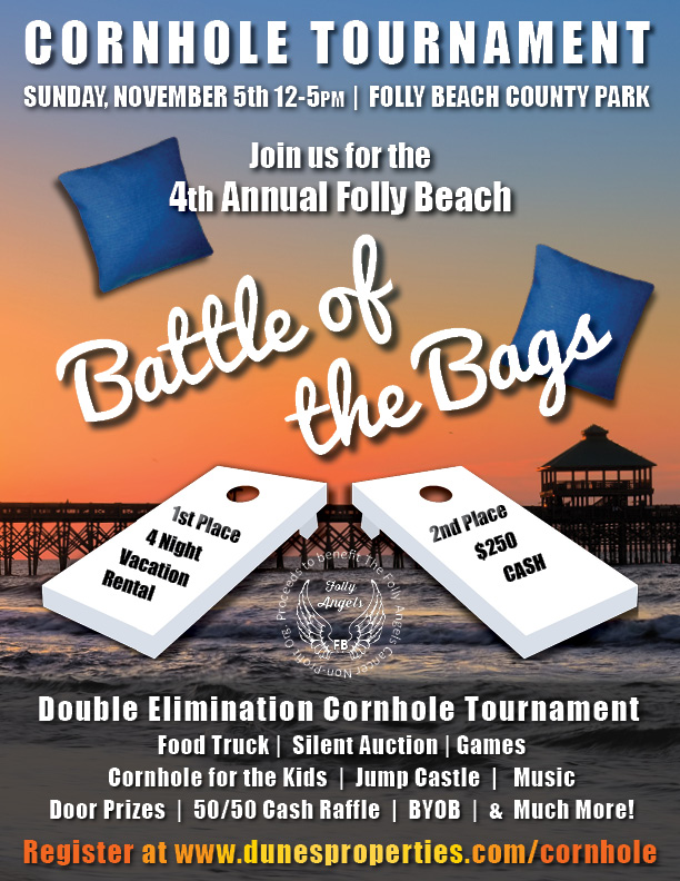 Charleston Sc Real Estate >> The Fourth Annual Folly Beach Battle of the Bags - Dunes Properties