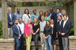 Back row (l-r): Jim Davis (Program Chair), Gary Hylton, Katie Moore Throckmorton, Shakeima Chatman, Laurie Loparo, Reddit Andrews, Susan Petty, Ginn Maiers, Vel Thurber Everett  Front row (l-r): Patrick Arnold, Peter Derry, Duval Acker, Stacy Jennings, Chris Haviland, Meghan Webster, Stephanie Davis, John Cowan (Vice-Chair), Matt DeAntonio (CTAR President)