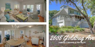 2608 Goldbug Ave, Sullivans Island Listing