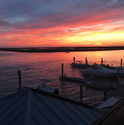 The Boathouse at Breach Inlet by Instagram user @lisa_stegman2