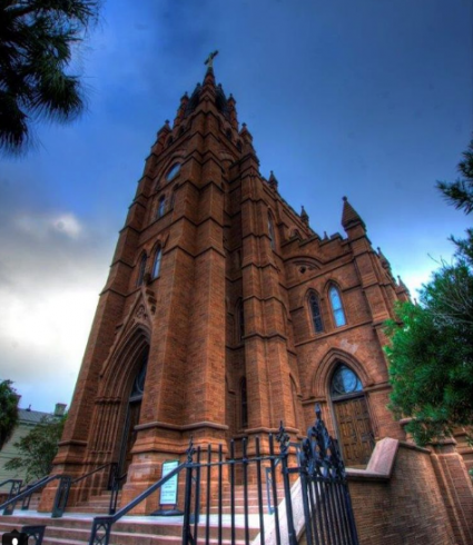 Downtown Charleston's Historic Churches, Cathedral of St. John the Baptist