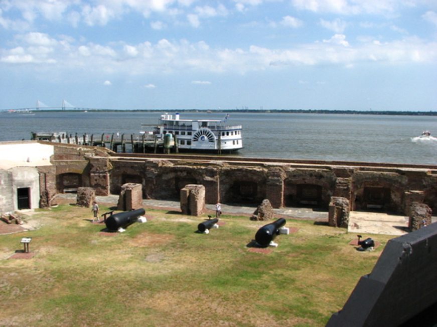 activities in charleston,fort sumter