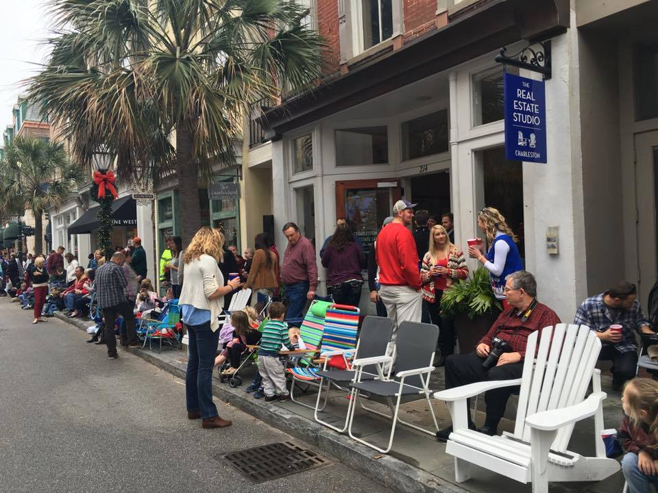 Holidays in Historic Charleston, Christmas Parade