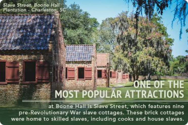 Military History in Charleston, Boone Hall