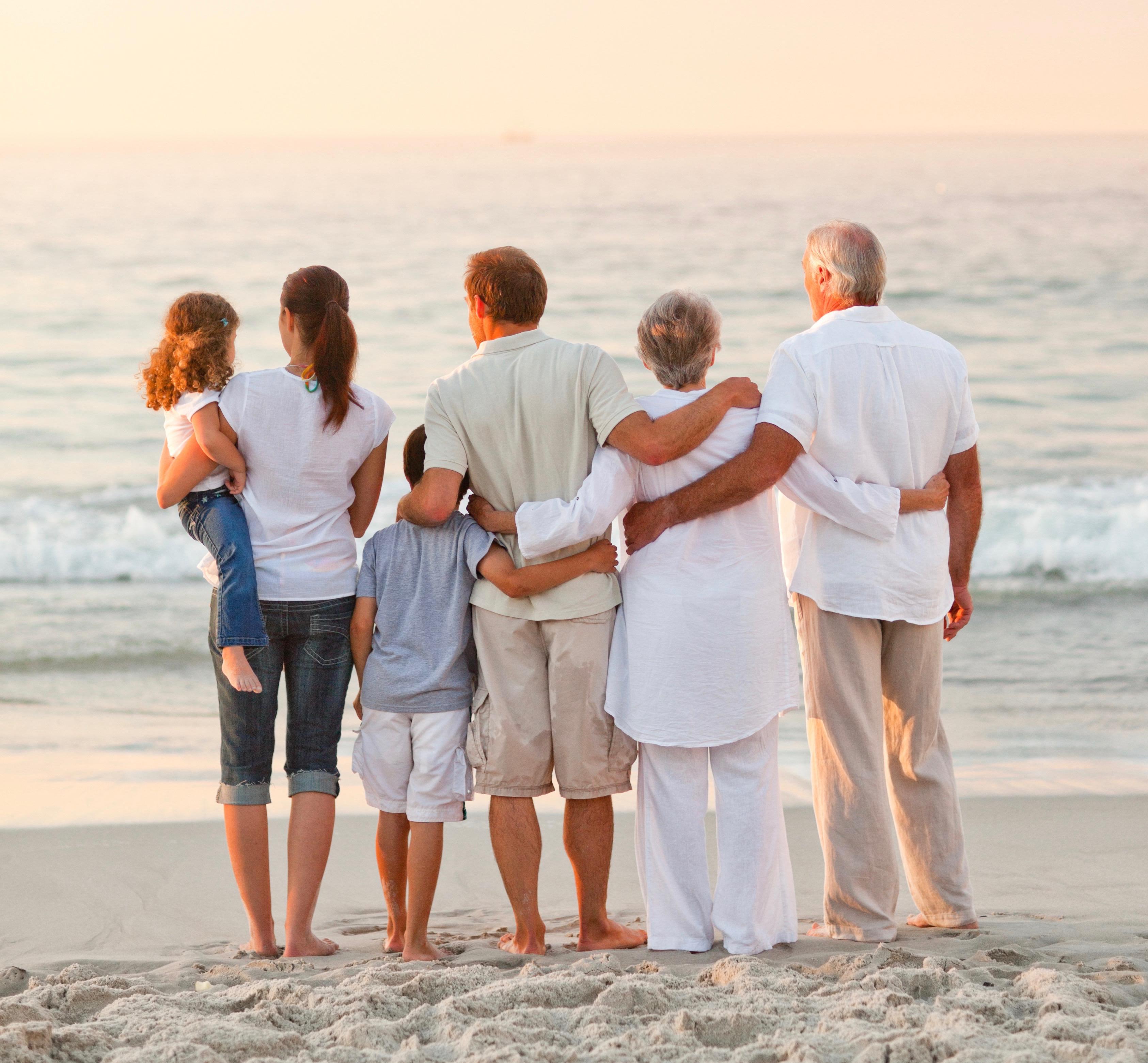 площади фото семьи со спины помощью