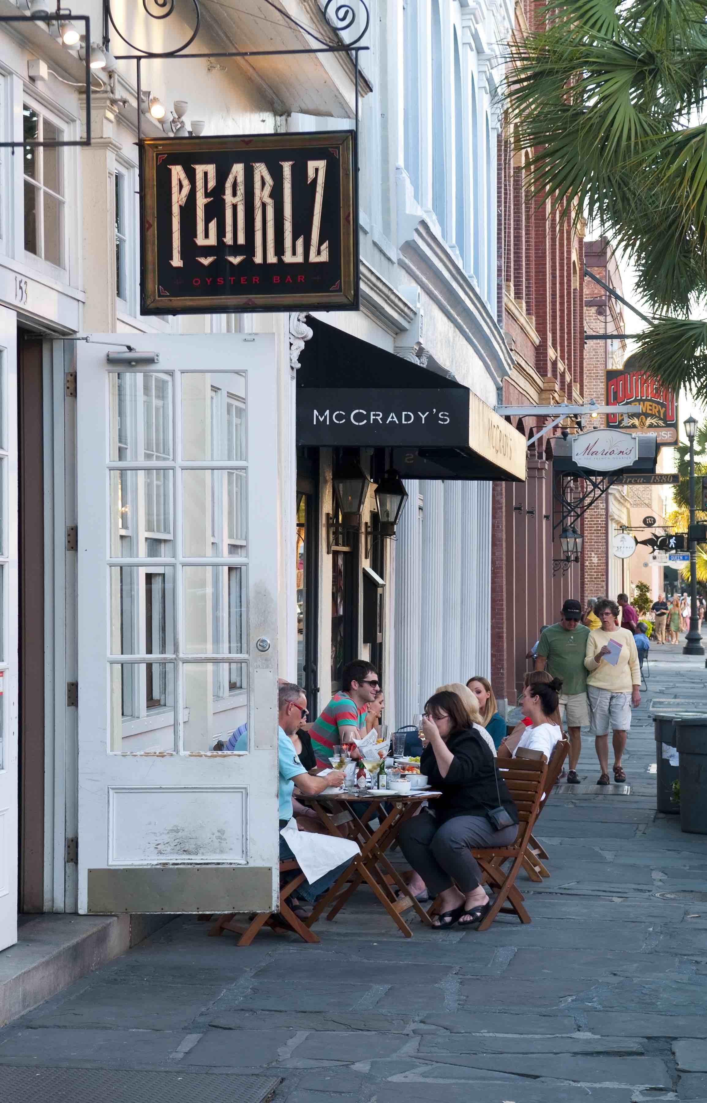 Charleston foodie neighborhoods