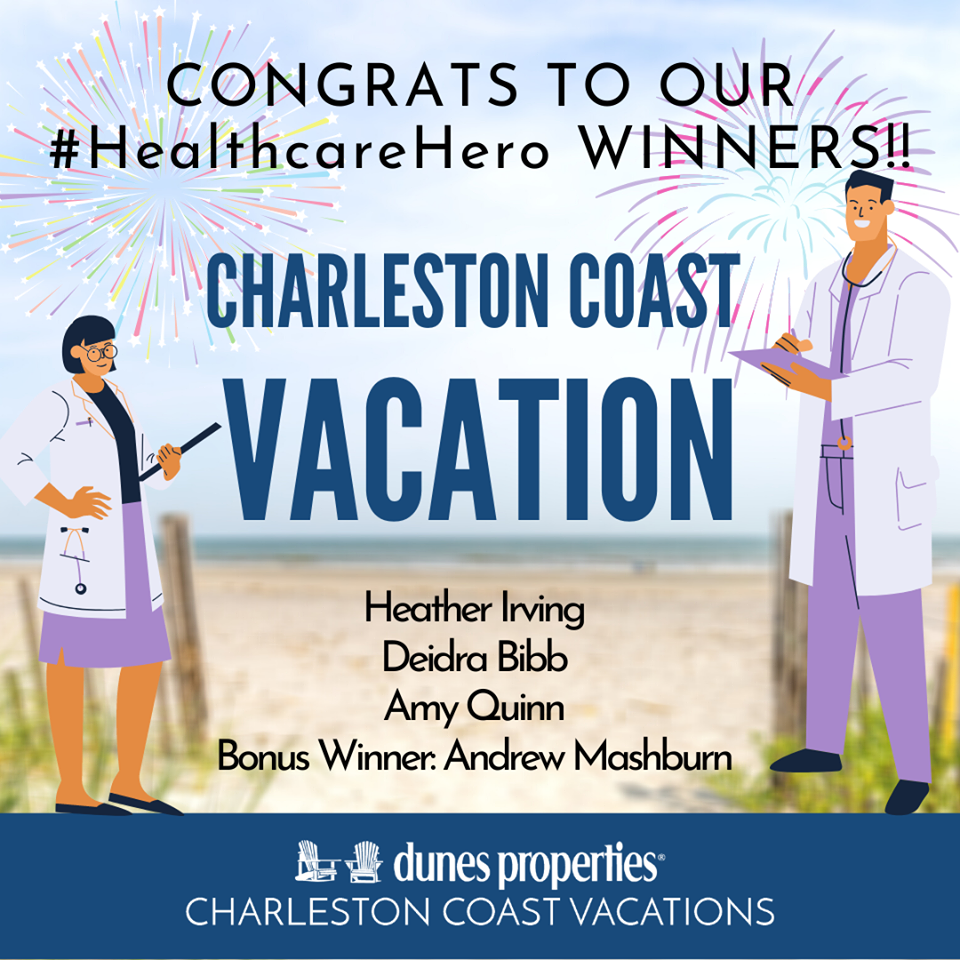 dunes properties healthcare heroes winners