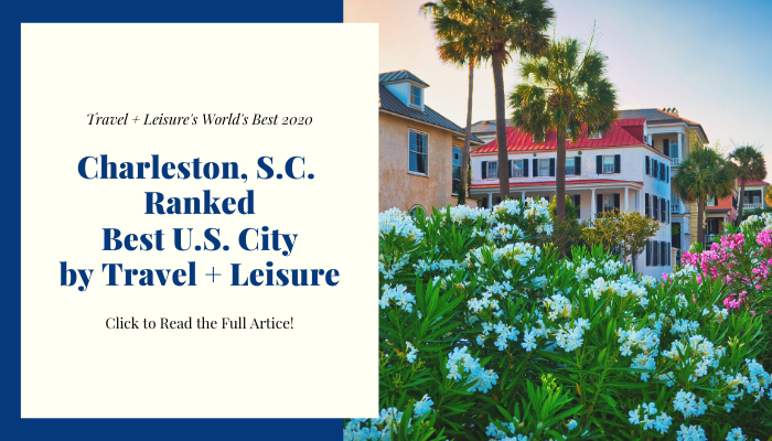 charleston number one us city