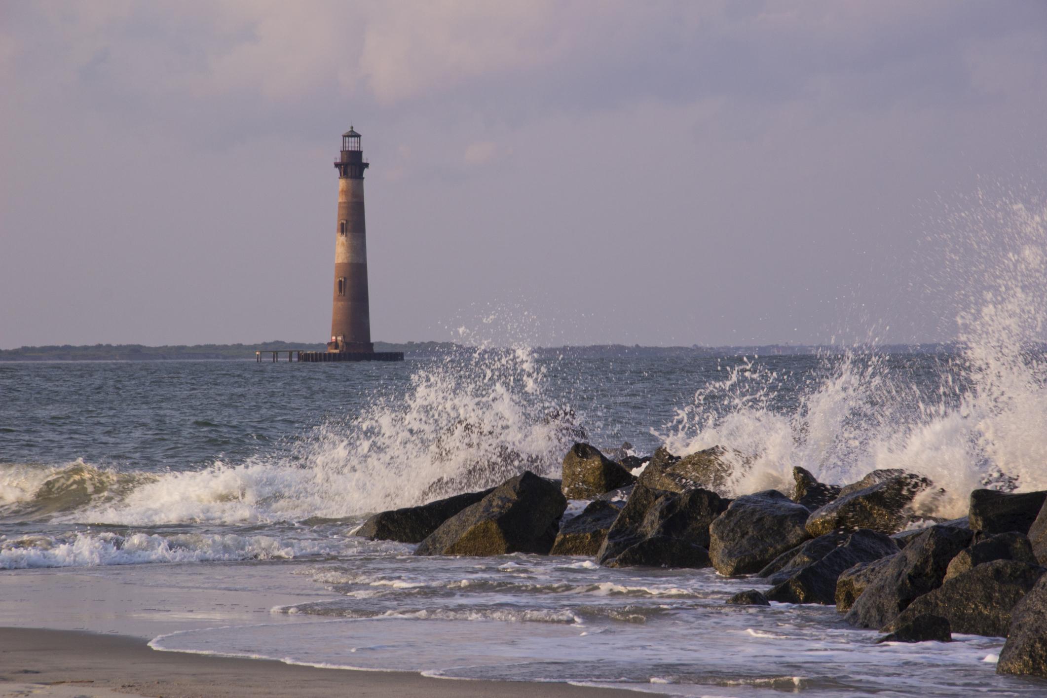 Morris Lighthouse Folly Beach SC