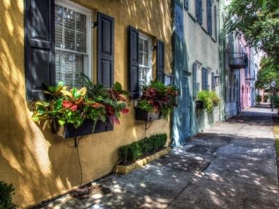 Rainbow Row Charleston SC attractions